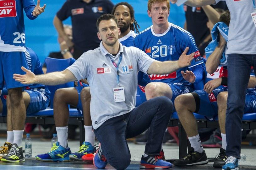 Trener Orlenu Wisły Płock Piotr Przybecki /fot. Andrzej Iwanczuk/REPORTER /East News