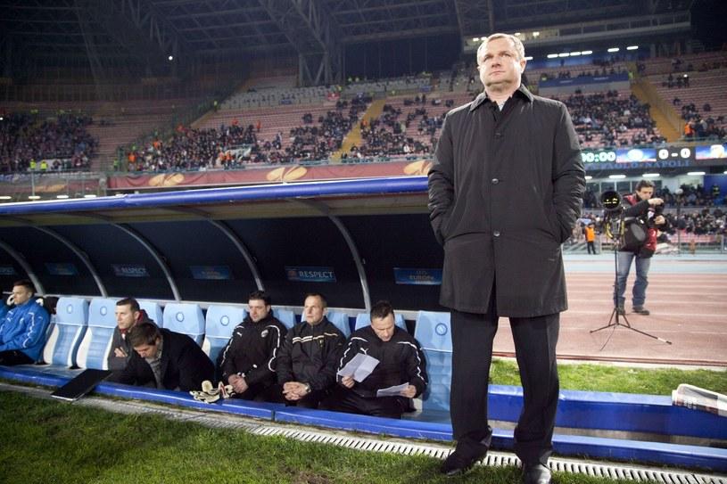 Trener Pavel Vrba /AFP