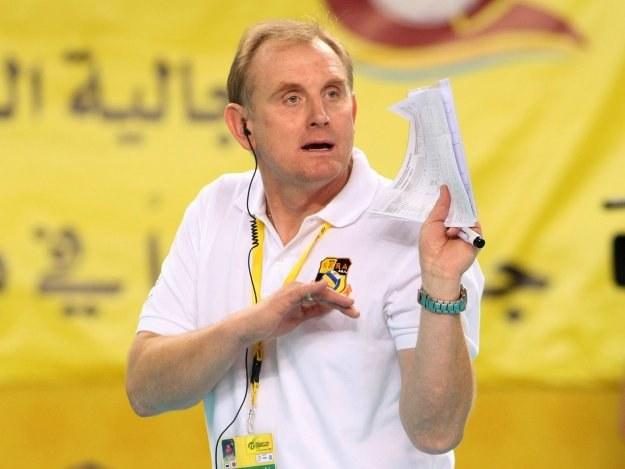 Trener PGE Skry Bełchatów Jacek Nawrocki /www.fivb.org