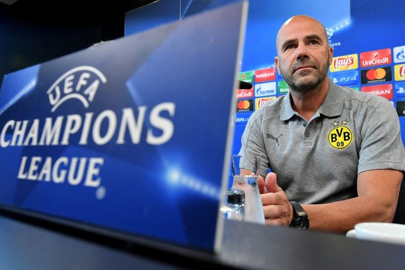 Trener piłkarzy Borussii Dortmund Peter Bosz /PAP/EPA