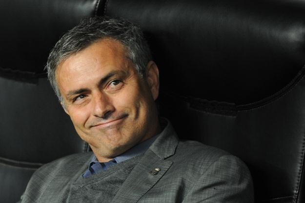 Trener piłkarzy Realu Madryt Jose Mourinho /AFP