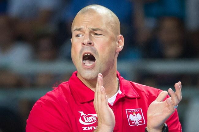 Trener Polaków Mike Taylor /Tytus Żmijewski /PAP