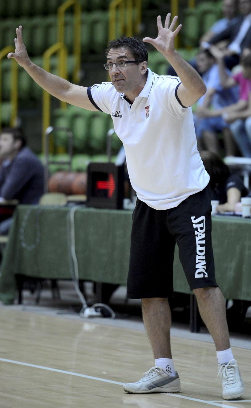 Trener polskich koszykarek, Jacek Winnicki /Tytus Żmijewski /PAP