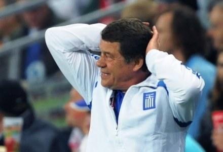 Trener reprezentacji Grecji Otto Rehhagel. /AFP