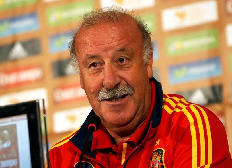 Trener reprezentacji Hiszpanii Vicente del Bosque /PAP/EPA