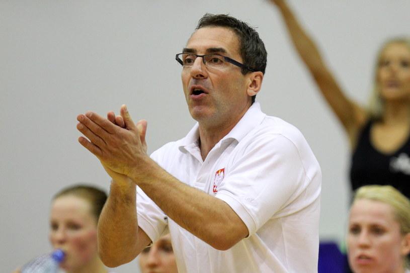 Trener reprezentacji Polski Jacek Winnicki /Fot. Piotr Wittman /PAP
