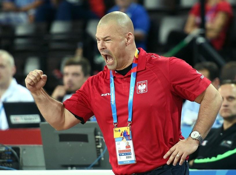 Trener reprezentacji Polski koszykarzy Mike Taylor /East News