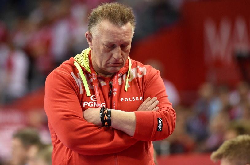Trener reprezentacji Polski Michael Biegler /Jacek Bednarczyk /PAP