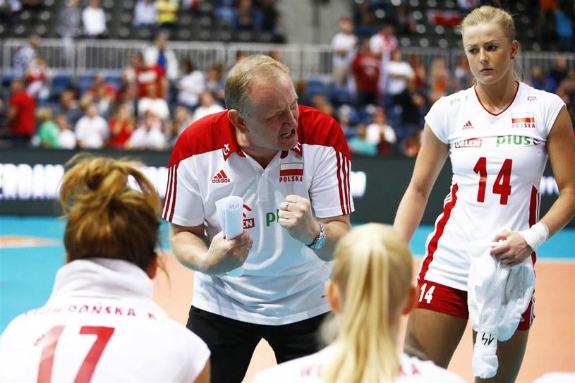 Trener reprezentacji Polski siatkarek Jacek Nawrocki /www.fivb.org