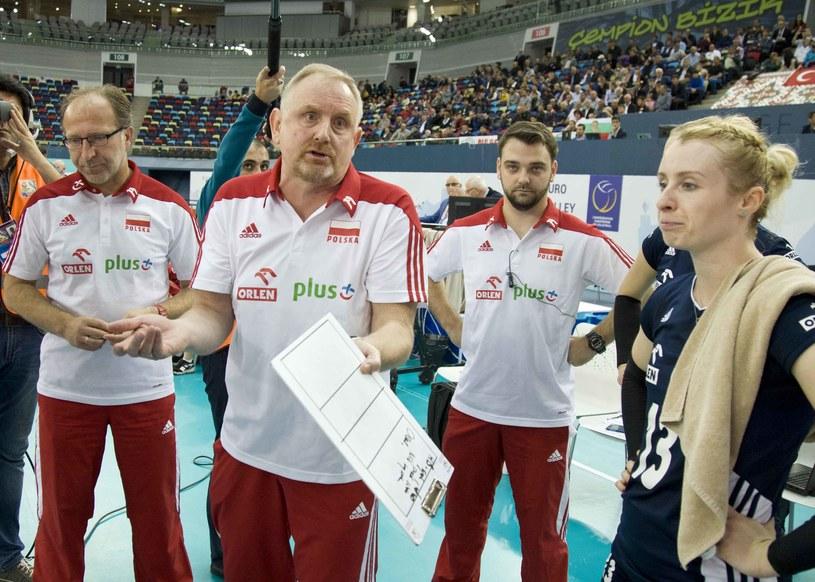 Trener reprezentacji Polski siatkarek Jacek Nawrocki /www.cev.lu