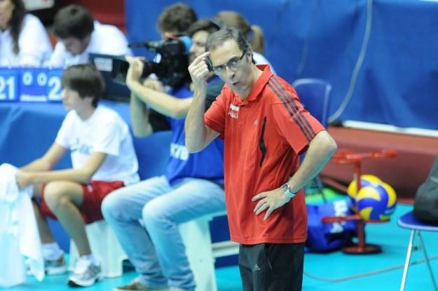Trener reprezentacji Polski siatkarzy Daniel Castellani /www.fivb.org