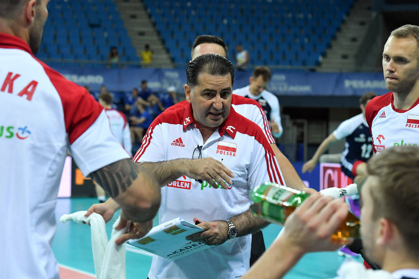 Trener reprezentacji Polski siatkarzy Ferdinando De Giorgi /www.fivb.org