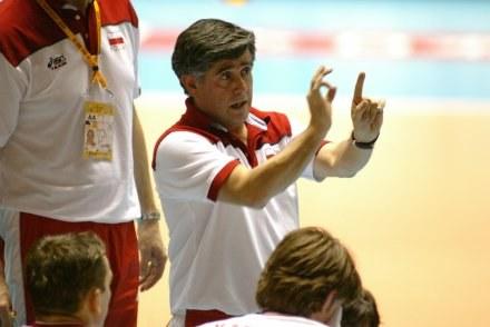 Trener reprezentacji Polski siatkarzy Raul Lozano Fot. Rafał Bała /Agencja Przegląd Sportowy