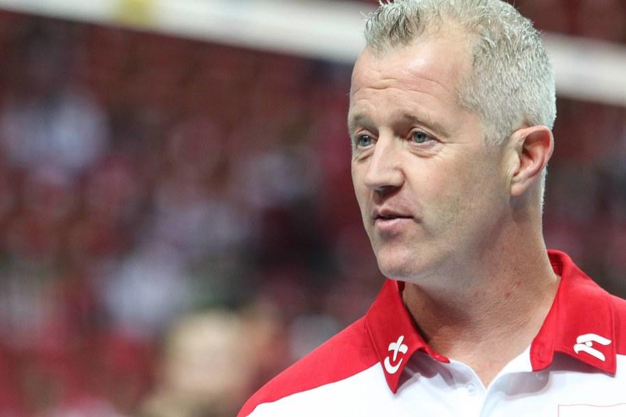 Trener reprezentacji Polski Vital Heynen. /Dominik Gajda /PAP