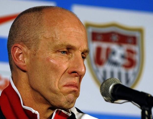 Trener reprezentacji USA Bob Bradley /AFP