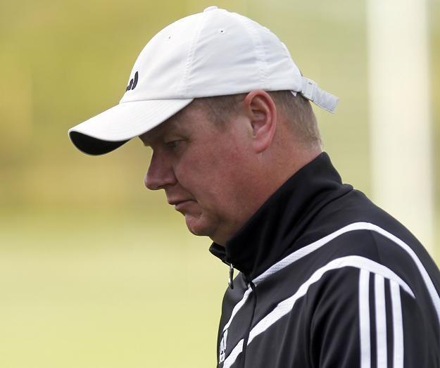 Trener Robert Kasperczyk. Fot. Andrzej Grygiel /PAP