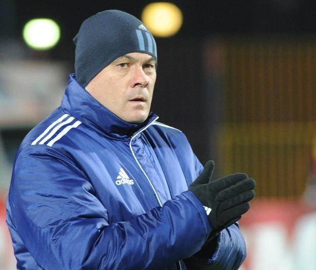 Trener Ruchu Chorzów Jacek Zieliński /PAP