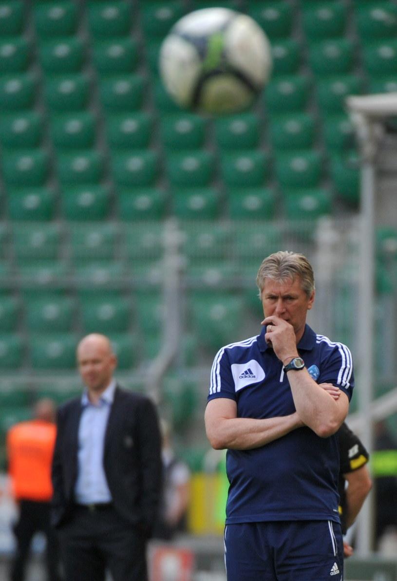 Trener Ruchu Chorzów Jan Kocian /Fot. Bartłomiej Zborowski /PAP