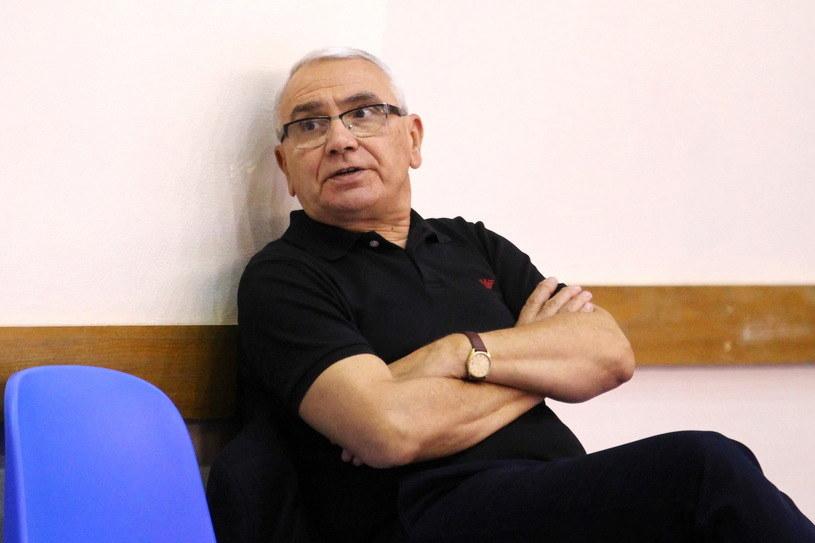 Trener Teodor Mołłow /Krzysztof Porębski /Newspix