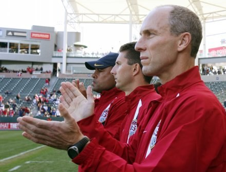 Trener USA Bob Bradley /AFP