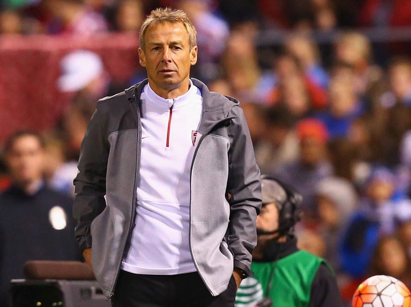 Trener USA Juergen Klinsmann /AFP
