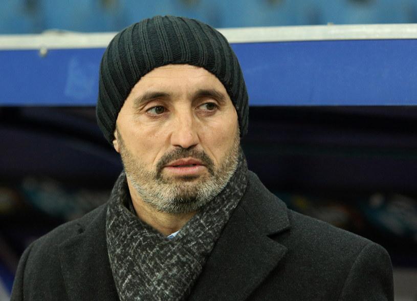 Trener Wisły Kraków Kiko Ramirez /Fot. Stanisław Rozpędzik /PAP