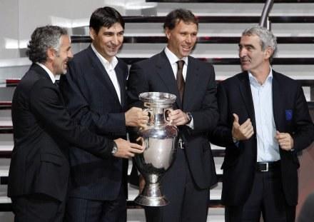 Trenerzy rywali z grupy C Euro 2008 /AFP