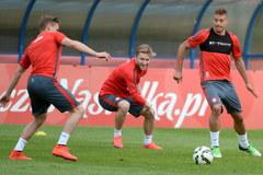 Trening polskiej kadry przed meczem z Gruzją