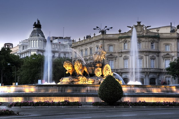 Trevi Cibeles w Madrycie /123/RF PICSEL
