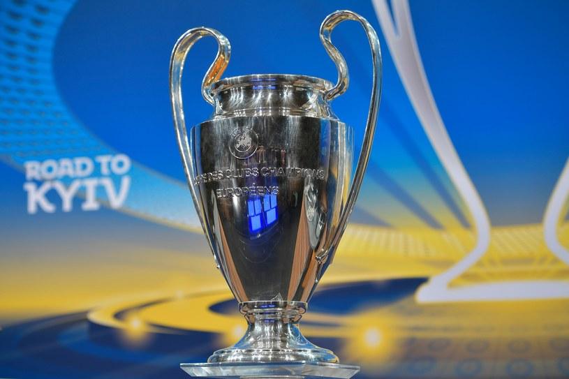 Trofeum za wygranie Ligi Mistrzów /AFP