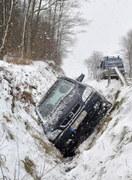 Trudne warunki na drogach. Wypadek w Babicach