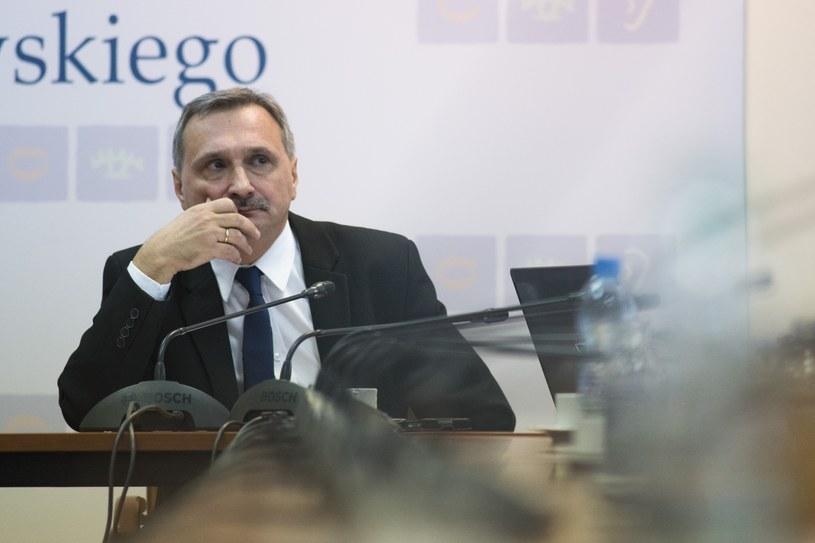 """""""Trudno mówić o sukcesie"""" - powiedział wiceminister edukacji Maciej Kopeć /Jakub Wosik  /Reporter"""