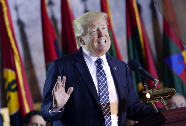 Trump chce obciąć fundusze dla Polski. Polskie MSZ komentuje sprawę