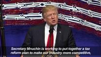 Trump: Kupujcie amerykańskie, zatrudniajcie Amerykanów!
