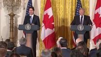 Trump spotkał się z premierem Kanady