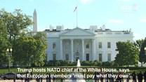 Trump spotkał się z Sekretarzem generalnym NATO