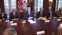 Trump: USA odpowiedzą siłą