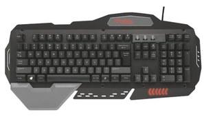 Trust GXT 850 - metalowa klawiatura, za którą nie przepłacisz i będziesz zadowolony