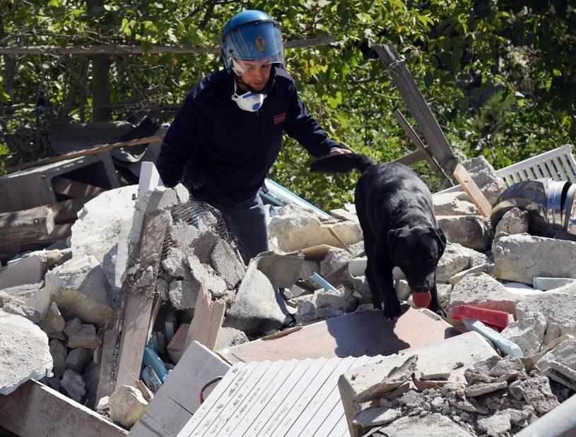 Trwa akcja poszukiwawczo-ratownicza /GIAN MATTEO CROCCHIONI /PAP/EPA