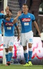 Trwa mecz SSC Napoli - AC Milan. Gole Arkadiusza Milika!