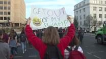 Trwają protesty młodych Amerykanów przeciwko prezydenturze Donalda Trumpa