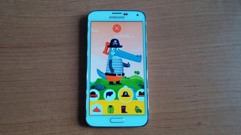 Tryb dla dzieci to jedna z najmocniejszych stron Samsunga Galaxy S5 /INTERIA.PL