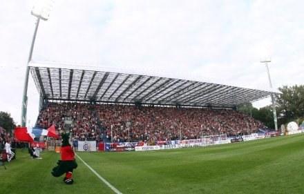 Trybuna D na stadionie Wisły, fot: Tomasz Markowski /Agencja Przegląd Sportowy