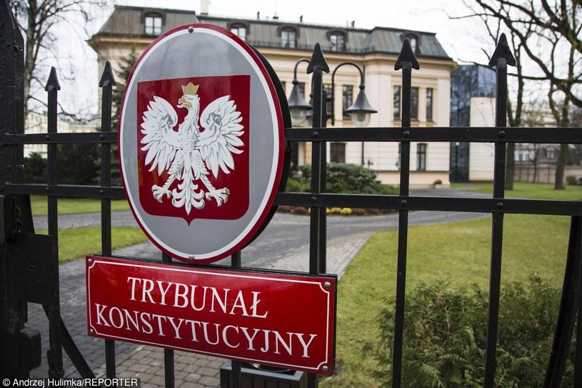 Trybunał Konstytucyjny, zdj. ilustracyjne /Andrzej Hulimka/Reporter /East News