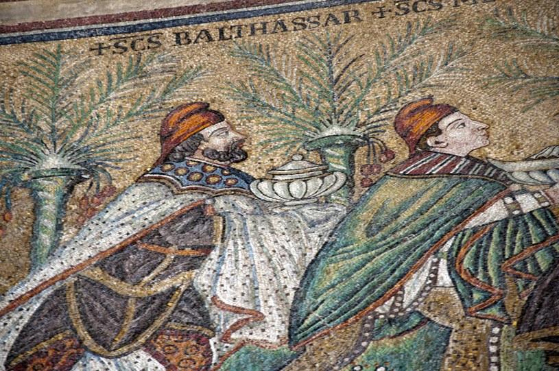 Trzej Królowie - mozaika w Rawennie /123RF/PICSEL
