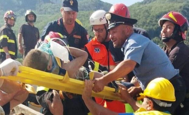 Trzęsienie ziemi na Ischii. Ratownicy uratowali trzech małych braci uwięzionych pod gruzami