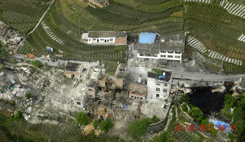 Trzęsienie ziemi trwało zaledwie 30 sekund /AFP