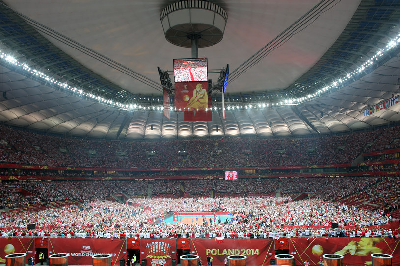 Trzy lata temu w Warszawie odbył się mecz otwarcia siatkarskich MŚ /Łukasz Grochala /Newspix