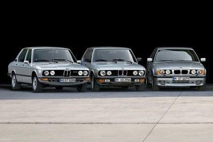 Trzy pierwsze generacje BMW serii 5 /