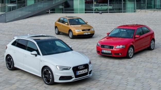 Trzy pokolenia Audi A3 /Audi